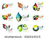 multicolored abstract leaves in ... | Shutterstock .eps vector #426314215