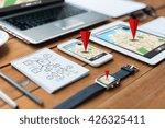 navigation  travel and... | Shutterstock . vector #426325411