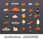 food icons set  food icon vector | Shutterstock .eps vector #426329581