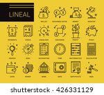 line vector icons in a modern... | Shutterstock .eps vector #426331129
