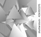 vector polygonal material... | Shutterstock .eps vector #426332191