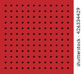 perforated red seamless pattern....