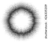 abstract halftone effect vector ... | Shutterstock .eps vector #426335209