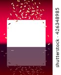 red vertical background with... | Shutterstock .eps vector #426348985