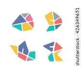 abstract logo. creative design... | Shutterstock .eps vector #426349651