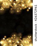 abstract background with gold... | Shutterstock .eps vector #426372961