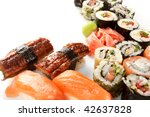 different types of sushi | Shutterstock . vector #42637828