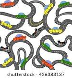 transport vector seamless... | Shutterstock .eps vector #426383137
