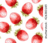 seamless pattern with ripe... | Shutterstock . vector #426383185