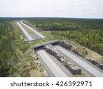 wildlife crossing   bridge over ... | Shutterstock . vector #426392971
