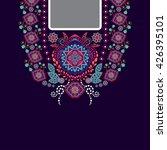 vector design for collar shirts ... | Shutterstock .eps vector #426395101