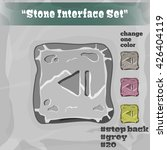 stone user interface element 20....