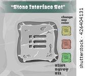 stone user interface element 11....