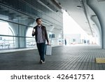 full body portrait of a happy... | Shutterstock . vector #426417571