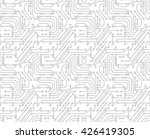 circuit board background.... | Shutterstock .eps vector #426419305