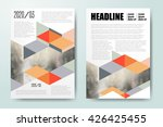brochure template design  book... | Shutterstock .eps vector #426425455