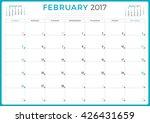 calendar planner for 2017 year. ...   Shutterstock .eps vector #426431659