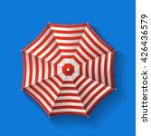 beach umbrella top | Shutterstock .eps vector #426436579