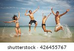 vacation travel destination... | Shutterstock . vector #426455767