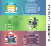 web design. art of digital... | Shutterstock . vector #426457975