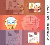 social science of economics.... | Shutterstock . vector #426457984