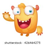 cartoon cute monster | Shutterstock .eps vector #426464275