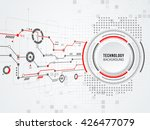 vector digital technology... | Shutterstock .eps vector #426477079