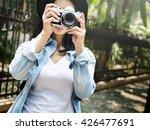 adventure camera photograph... | Shutterstock . vector #426477691