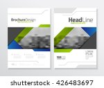 business brochure design....   Shutterstock .eps vector #426483697