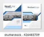 business brochure design.... | Shutterstock .eps vector #426483709
