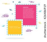 abstract concept vector empty... | Shutterstock .eps vector #426486919
