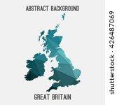 united kingdom great britain... | Shutterstock .eps vector #426487069