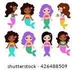 collection of a cute little... | Shutterstock . vector #426488509