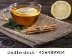 Herbal Tea With Lemon  Cinnamo...