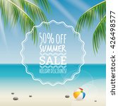 summer sale label | Shutterstock .eps vector #426498577