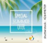 summer sale label | Shutterstock .eps vector #426498709