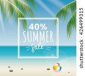 summer sale label | Shutterstock .eps vector #426499315