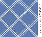 nautical crossed rope seamless... | Shutterstock .eps vector #426514015