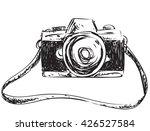 vector illustration of camera... | Shutterstock .eps vector #426527584
