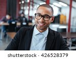 close up portrait of smiling... | Shutterstock . vector #426528379