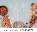 Wooden Beads  Ethnic Musical...
