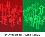arrow up and down abstract... | Shutterstock .eps vector #426543529