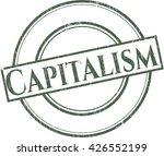 capitalism rubber stamp | Shutterstock .eps vector #426552199