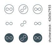 Thin Line Infinity Symbol Or...