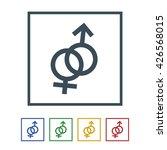 male female symbol icon...   Shutterstock .eps vector #426568015