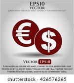 currency exchange icon vector... | Shutterstock .eps vector #426576265