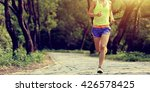 young fitness woman trail... | Shutterstock . vector #426578425