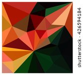 low polygon triangle pattern... | Shutterstock . vector #426594184