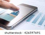 close up finger hand of... | Shutterstock . vector #426597691