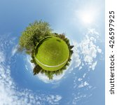 little planet 360 panorama... | Shutterstock . vector #426597925